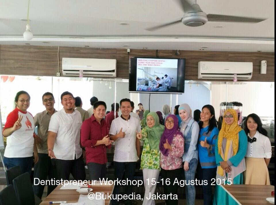 Dentistpreneur's Experiences in Workshop Topik 2