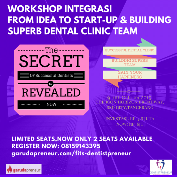 IT'S TIME TO REVEALED THE SECRETS OF EVERY SUCCESSFUL DENTIST