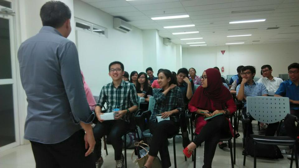 Dentistpreneur Goes to Campus FKG Universitas Indonesia